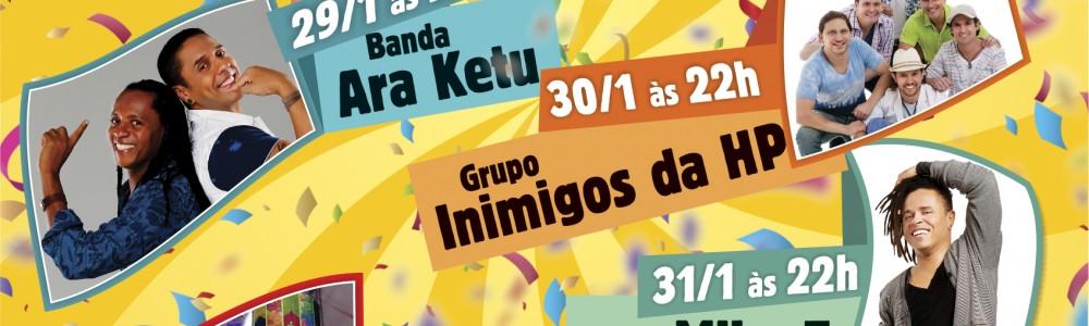 Pré Carnaval 2016 agita a ilha neste fim de semana