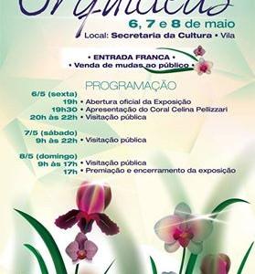 11ª Exposição de Orquídeas no Dia das Mães em Ilhabela