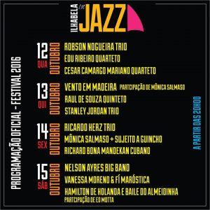 ilhabela in jazz 2016 oficial programação